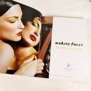 Making Faces Kevyn Aucoin Book & Bag w Extras